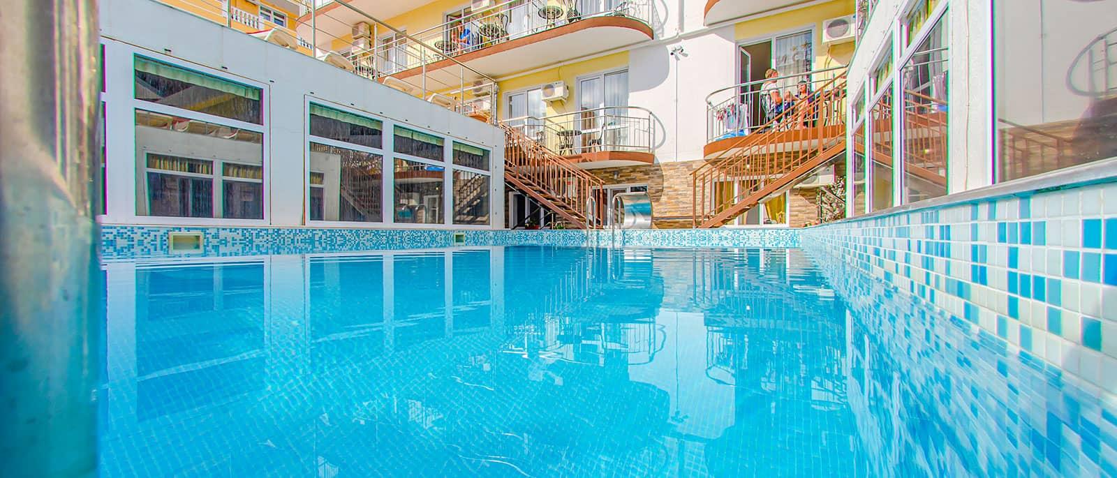 Витязеово гостевой дом с бассейном